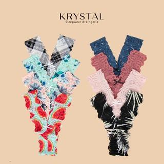 Quần lót ren lọt khe chữ Y sexy gợi cảm màu họa tiết KRYSTAL KQY03 thumbnail
