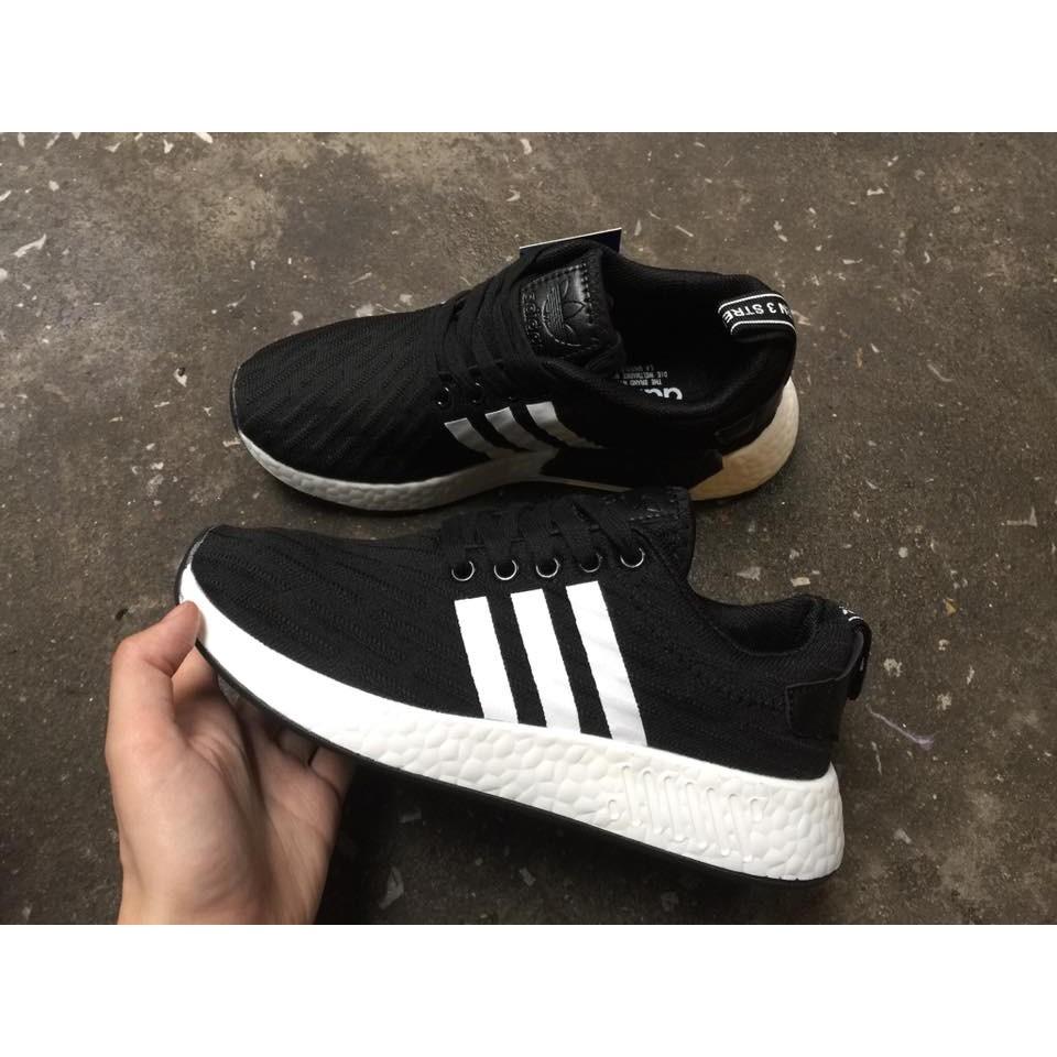 [FREE SHIP + FULL BOX] Giày Adidas NMD R2 màu Đen sọc trắng - 2648516 , 646493476 , 322_646493476 , 250000 , FREE-SHIP-FULL-BOX-Giay-Adidas-NMD-R2-mau-Den-soc-trang-322_646493476 , shopee.vn , [FREE SHIP + FULL BOX] Giày Adidas NMD R2 màu Đen sọc trắng