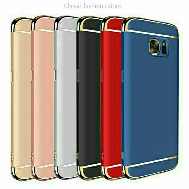 Ốp lưng 3 mảnh Galaxy S6 Edge - Đủ màu