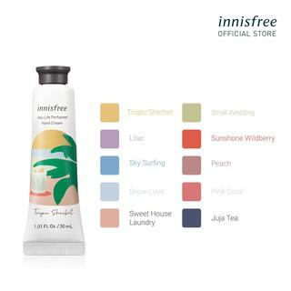 Kem dưỡng da tay hương nước hoa innisfree Jeju Life Perfumed Hand Cream 30ml thumbnail