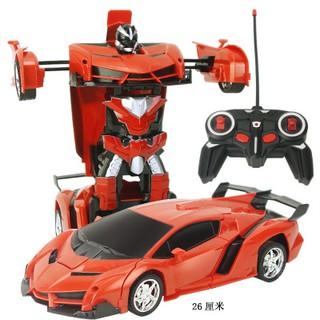 Ô tô biến hình thành robot dùng sạc điện cao cấp , ô tô điều khiển