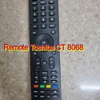 Remote điều khiển tivi toshiba CT 8068