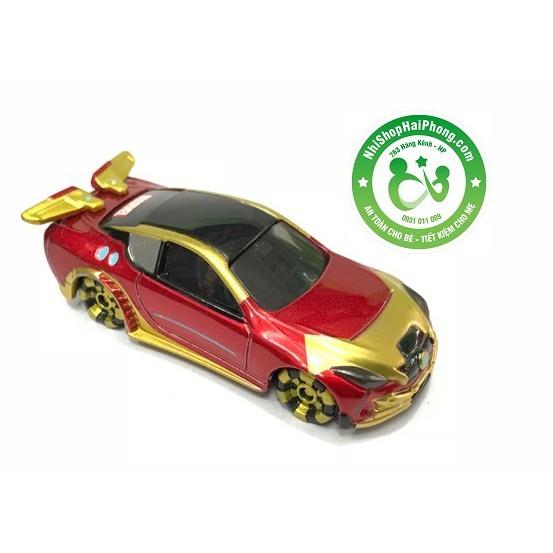 Xe mô hình T35 Tomica EliXion Zeeta (  đỏ vàng Marvel) tmcxtt t35