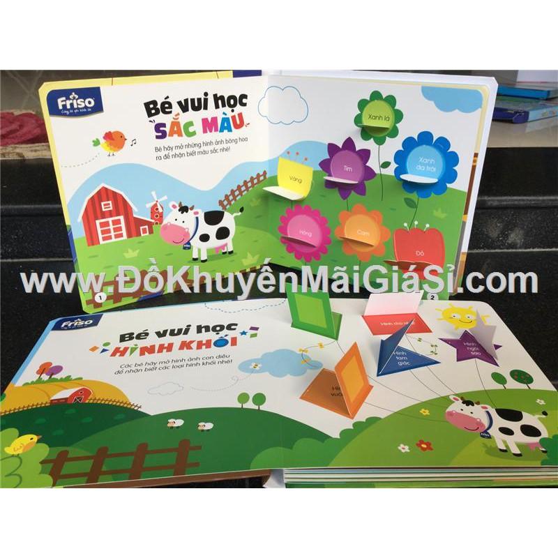 """Bộ 2 cuốn sách học tương tác """"Sắc màu"""" và """"Hình khối"""" sữa Friso tặng - (Kt: 23 x 23) cm - 3086365 , 621686272 , 322_621686272 , 35000 , Bo-2-cuon-sach-hoc-tuong-tac-Sac-mau-va-Hinh-khoi-sua-Friso-tang-Kt-23-x-23-cm-322_621686272 , shopee.vn , Bộ 2 cuốn sách học tương tác """"Sắc màu"""" và """"Hình khối"""" sữa Friso tặng - (Kt: 23 x 23) cm"""