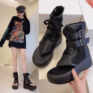 Giày Sandal Đế Dày Phối Lưới Thời Trang Năng Động 2021