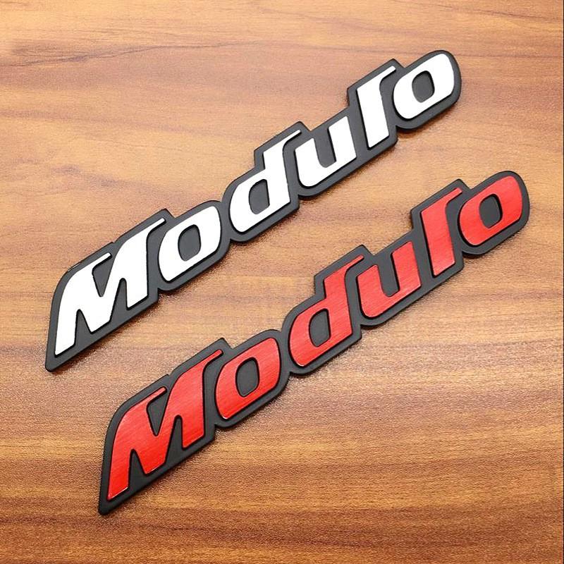 Decal dán thân xe hình logo Modulo cho Honda Type R