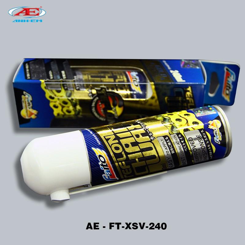 FT-Xịt Sên (GOLD) (240ml) SUZUKI SPORT - SU XIPO - RG 110 - RGV 120 - SATRIA 2000