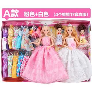 Set đồ chơi công chúa Barbie Princess 4 chiều chớp mắt cho bé nhiều chi tiết