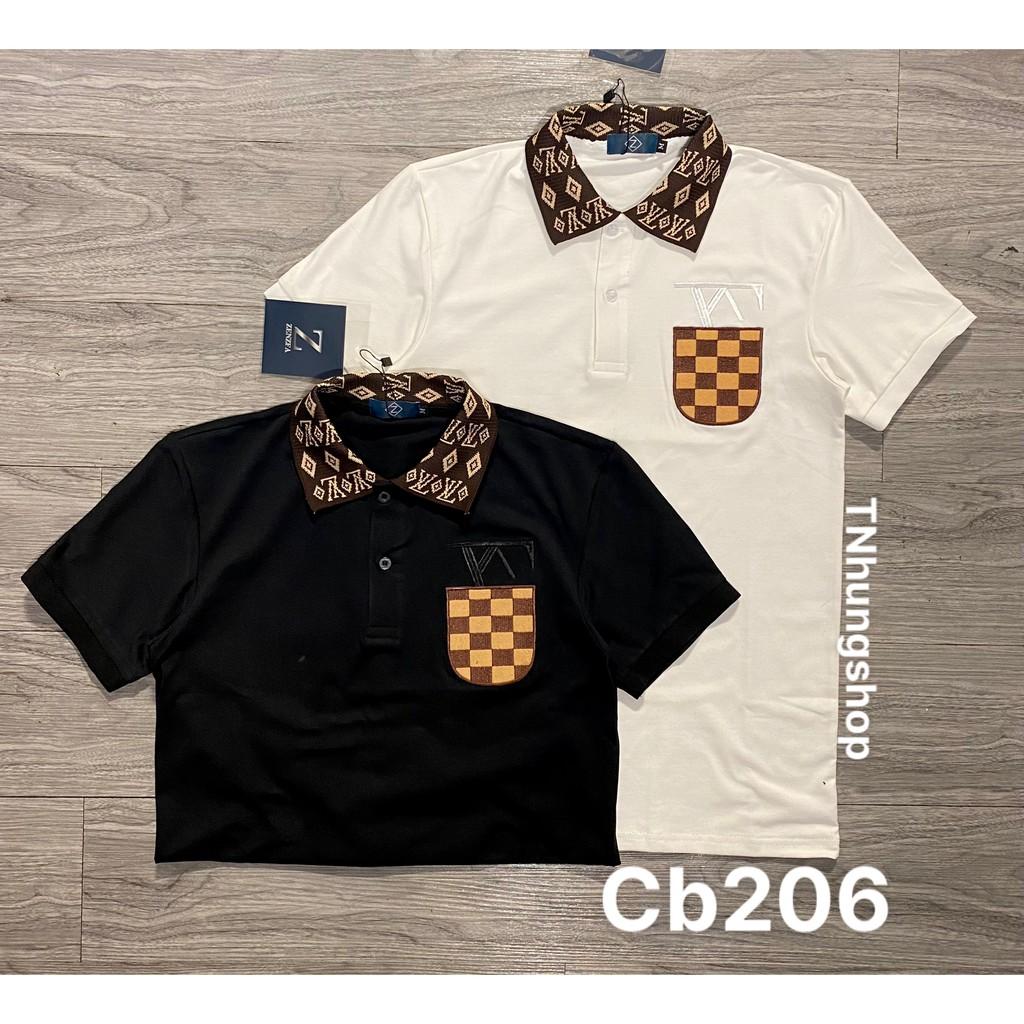 Sỉ áo thun áo phông nam polo ngắn tay có cổ giảm giá Mã cb50-206 tnhung