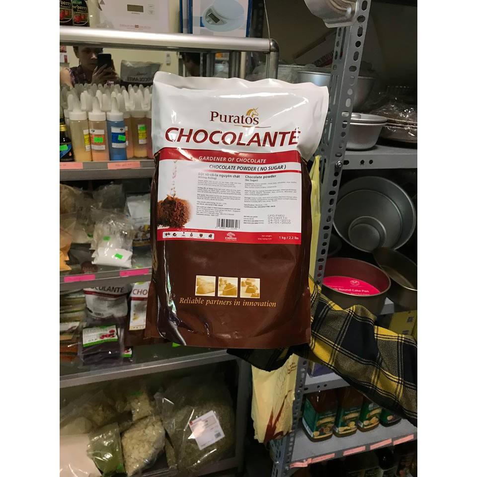 Bột socola nguyên chất gói 100g
