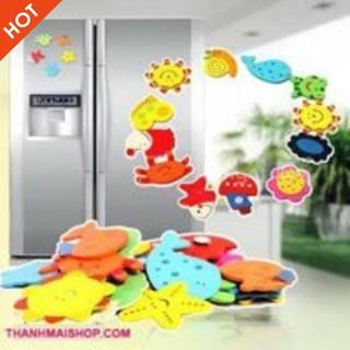 Nam châm dán tủ lạnh Silicon đáng yêu   GIÁ HỦY DIỆT