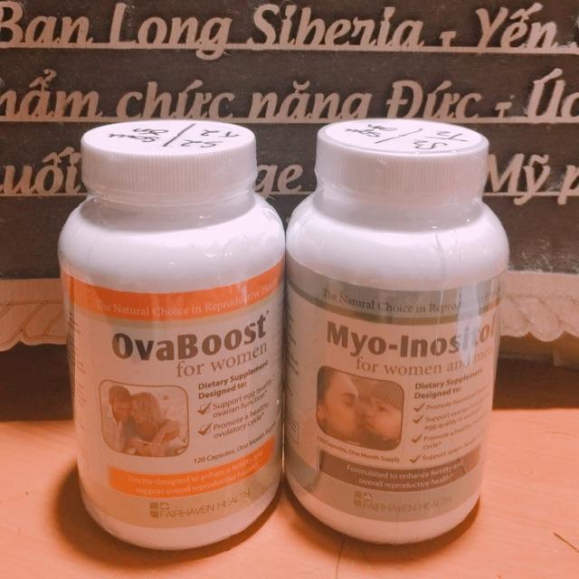 Bộ đôi chữa đa năng buồng trứng myo và ovaboost - 3454757 , 1348048115 , 322_1348048115 , 1300000 , Bo-doi-chua-da-nang-buong-trung-myo-va-ovaboost-322_1348048115 , shopee.vn , Bộ đôi chữa đa năng buồng trứng myo và ovaboost