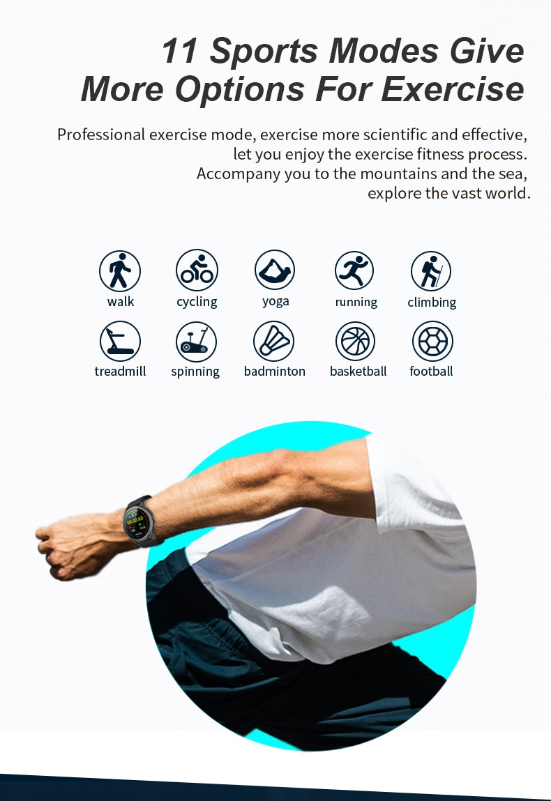 2021 DIliberto Fasion Sport Smart Watch R7 DIY Watch Faces Bluetooth Call Full Touch Fitness Bracelet For Xiaomi Android IOS
