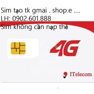 Sim Itelecom dùng mạng Vinaphone làm tài khoản nuôi lâu dài
