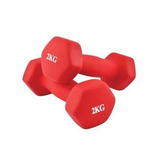 BG Bộ 2 tạ tay 2KG tập Gym thể hình cao cấp (TỔNG 4KG) XANH LAM thumbnail
