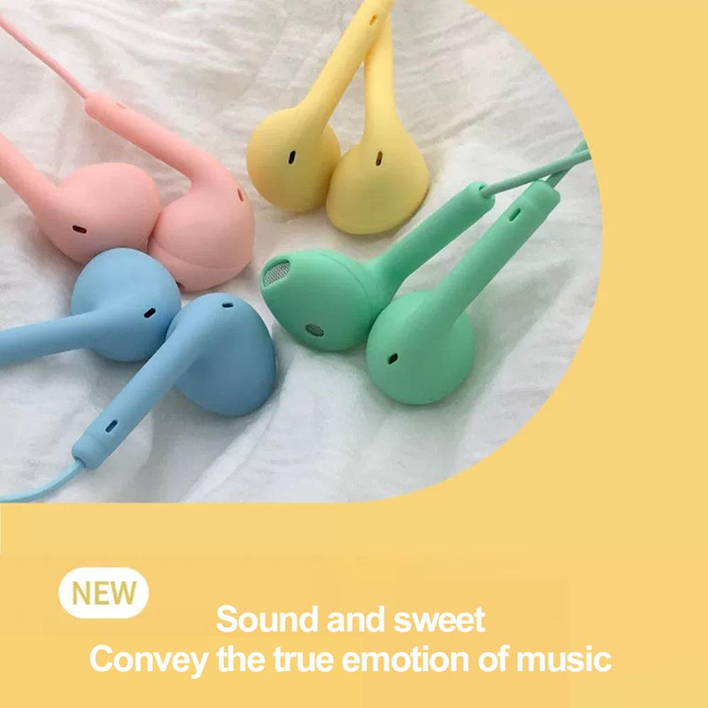 Nguyên Tai nghe HiFi U19 có dây dài 1,2m màu Macaron với âm thanh siêu trầm  dành cho Android & iOS | Shopee Việt Nam