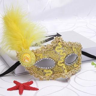 (MS88) mặt nạ lông vũ có đèn shopthebaipubg