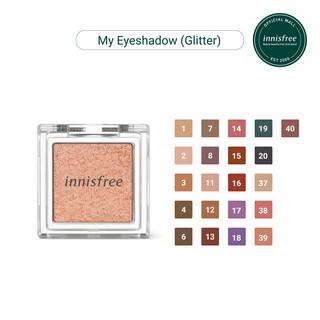 Phấn mắt dạng nhũ Innisfree My Eyeshadow Glitter 1.9g