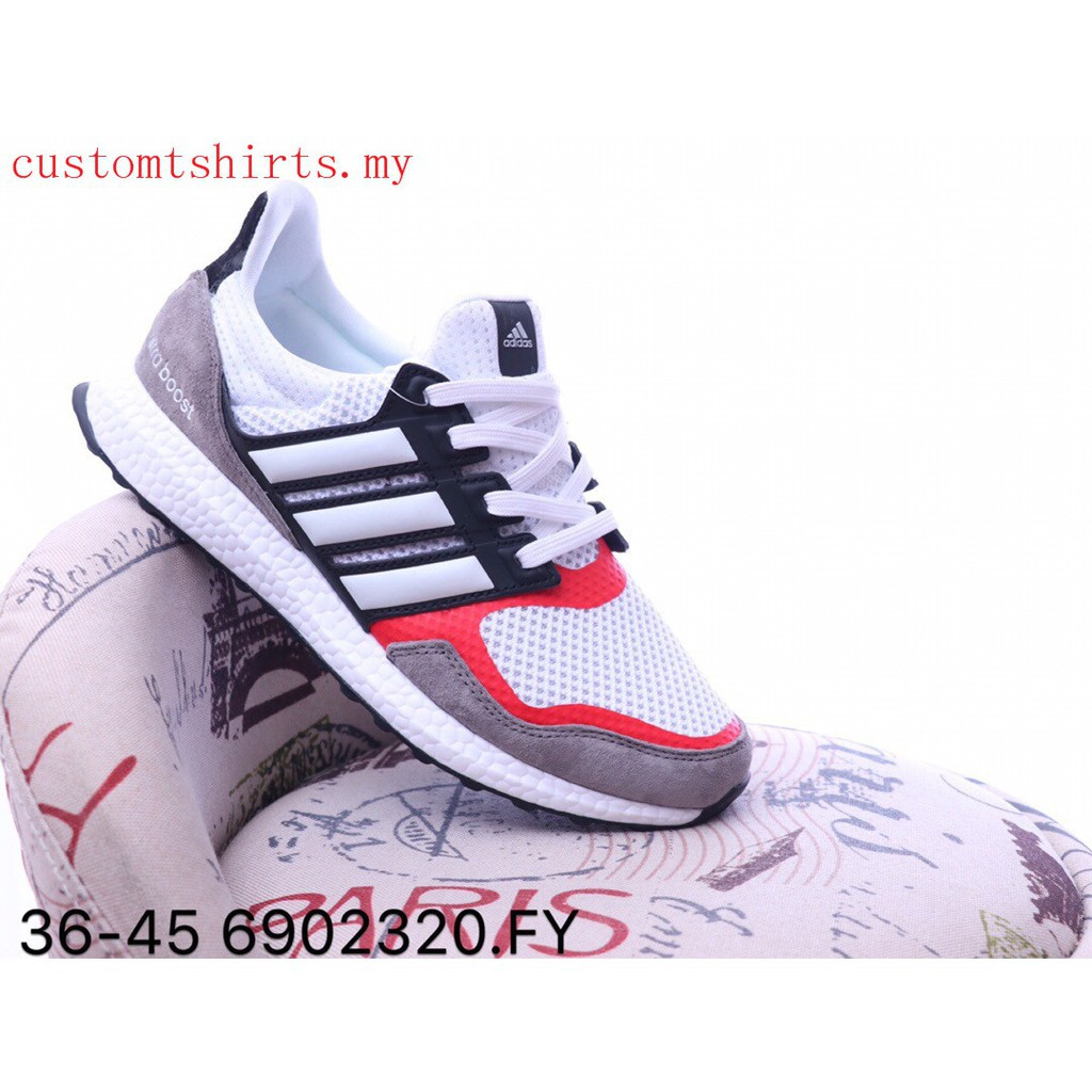 Original Adidas Ultra Boost UB 19 UB4.0 Men Women Sports Running Walking shoes white