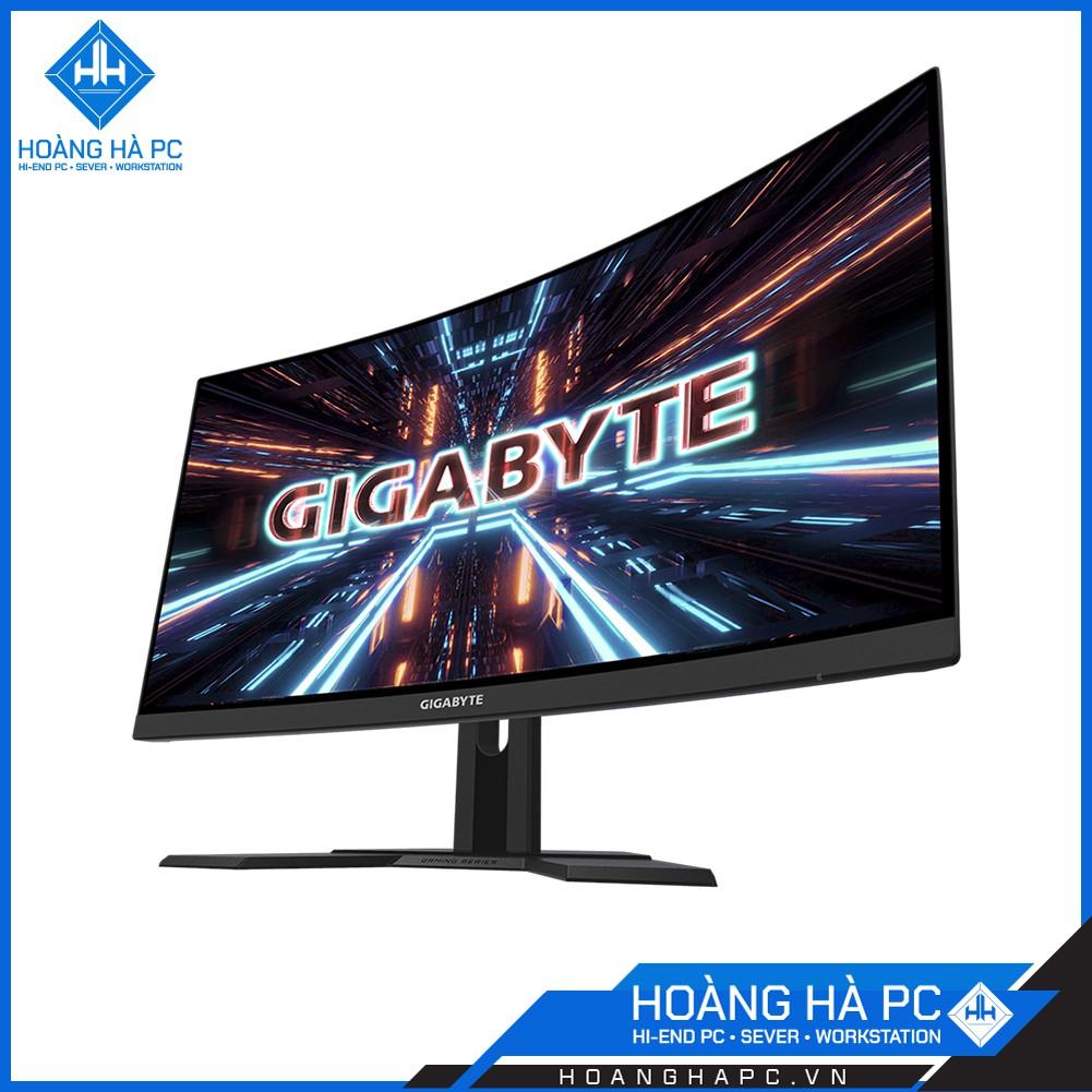 Màn hình Gigabyte G27FC-EK (27 inch/FHD/VA/165Hz/1ms/250 nits/HDMI+DP/Cong) - TẶNG TAI NGHE XỊN 750K