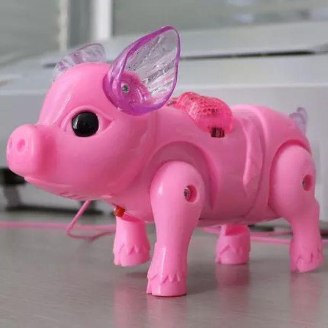 Đồ chơi Lợn biết đi phát nhạc có đèn