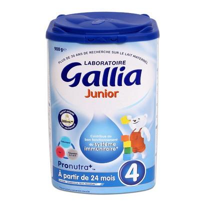 Sữa bột Gallia Junior 4 - hộp 900g (dành cho trẻ từ 3 - 6 tuổi)