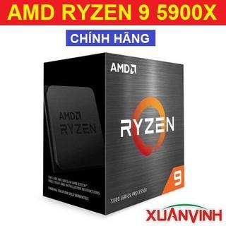 CPU AMD Ryzen 9 5900X 70MB, 3.7GHZ UPTO 4.8GHZ 12 NHÂN 24 LUỒNG (NEW 100%, CHÍNH HÃNG) thumbnail
