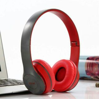 Tai nghe Bluetooth chụp tai không dây P47 có khe cắm thẻ nhớ