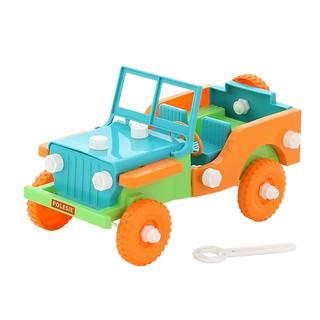Bộ lắp ghép xe Jeep Retro 42 mảnh 61300