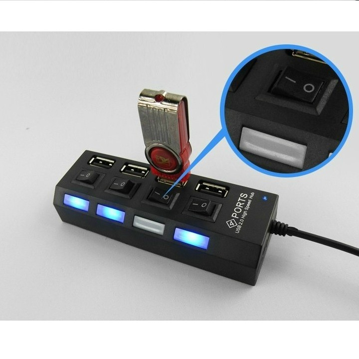 Cổng chia USB - Cổng HUB USB - Bộ chia cổng USB