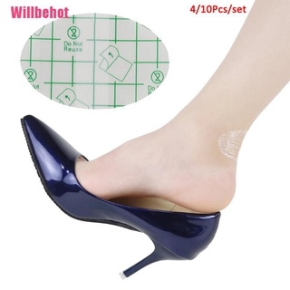 [Willbehot] 4/10Pcs Foot Care Skin Blister Patch Protector Heel Patch Half Yard Pad [wbt]