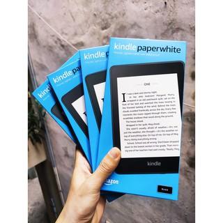 Máy đọc sách Kindle Paper White gen 4 (10th) nguyên seal tặng kèm túi da cao cấp