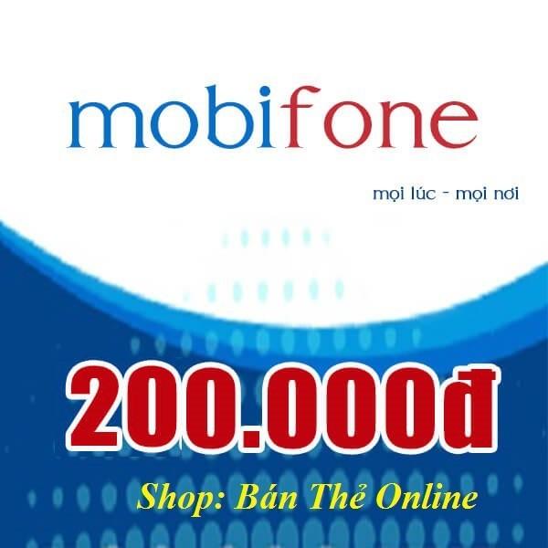 Mã thẻ Mobi 200K