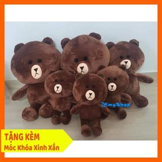 Gấu Browns Nhồi Bông Cao Cấp – 50 cm