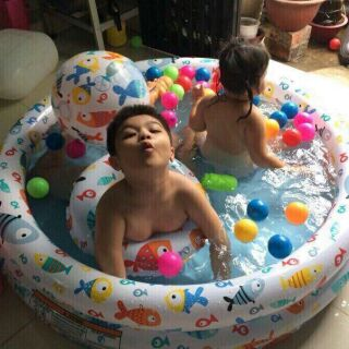 Hồ bơi intex 3in1 cho bé