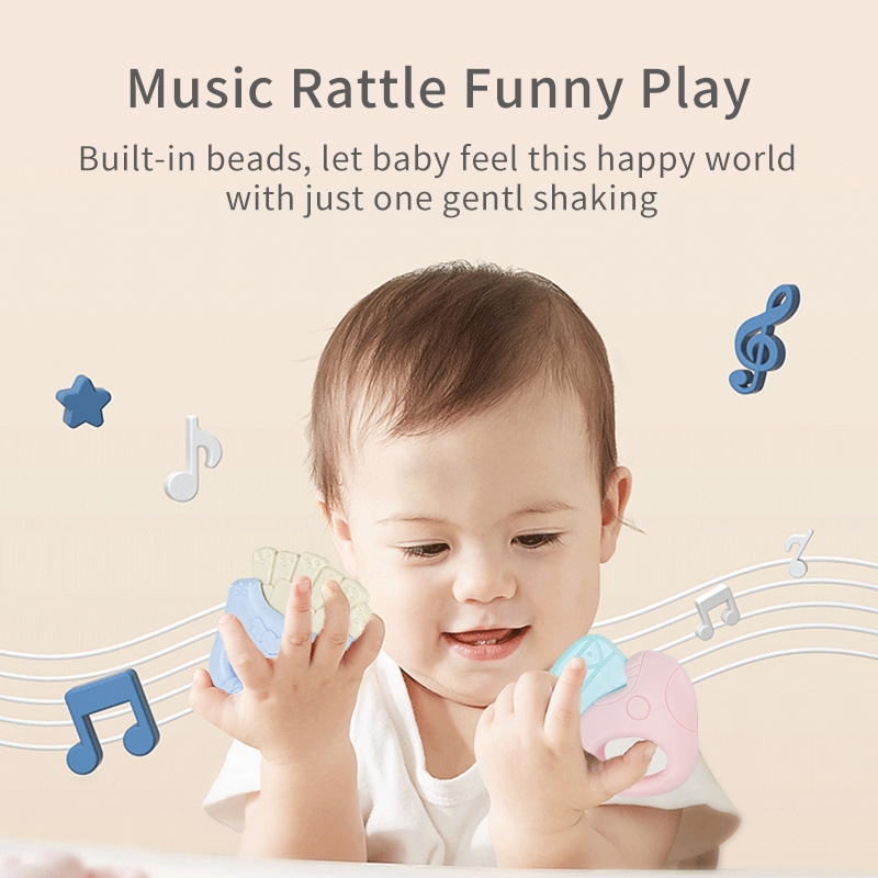 HDY Baby Rattle Teether Set Toys Early Learning New Born Teething