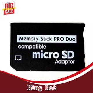 [ Hàng Hot ] Đầu Chuyển Đổi Micro Sd Tf Sang Pro Duo Memory Stick Cho Psp Click thumbnail