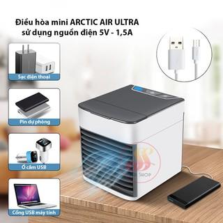 [BÁN CHẠY] Máy điều hòa mini làm lạnh bằng hơi nước ARCTIC AIR - điều hòa để bàn