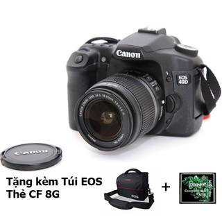 Máy Ảnh CANON EOS 40D Kèm Lens 18-55 USM 99%