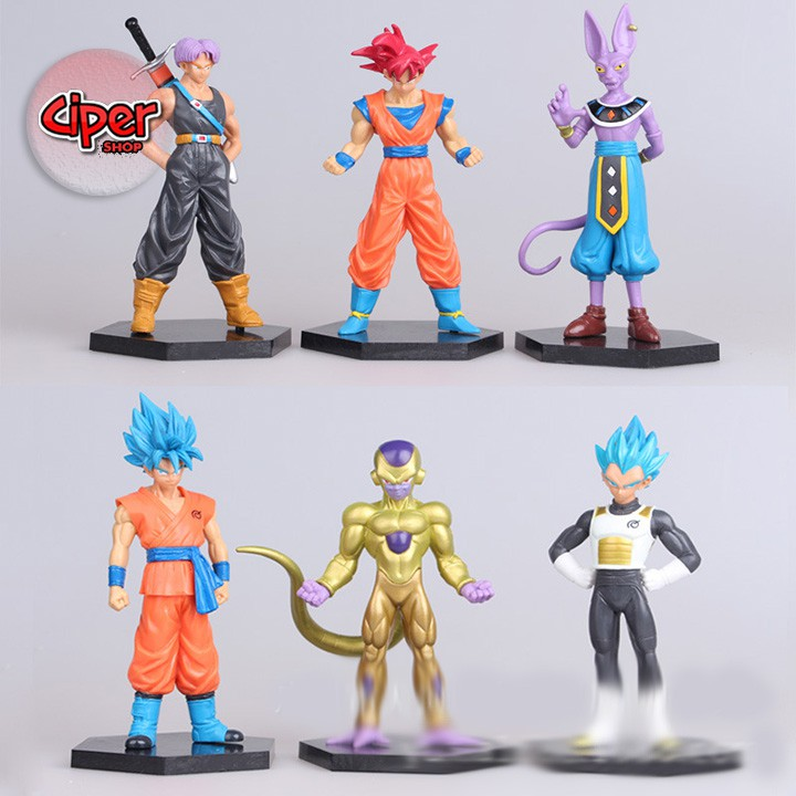 Trọn bộ Team Super Dragon Ball - Mô hình Dragon Ball