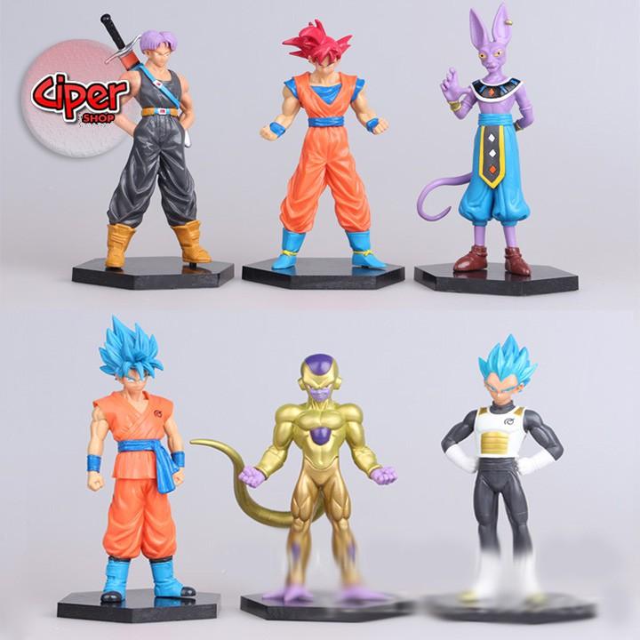 Trọn bộ Team Super Dragon Ball - Mô hình Dragon Ball