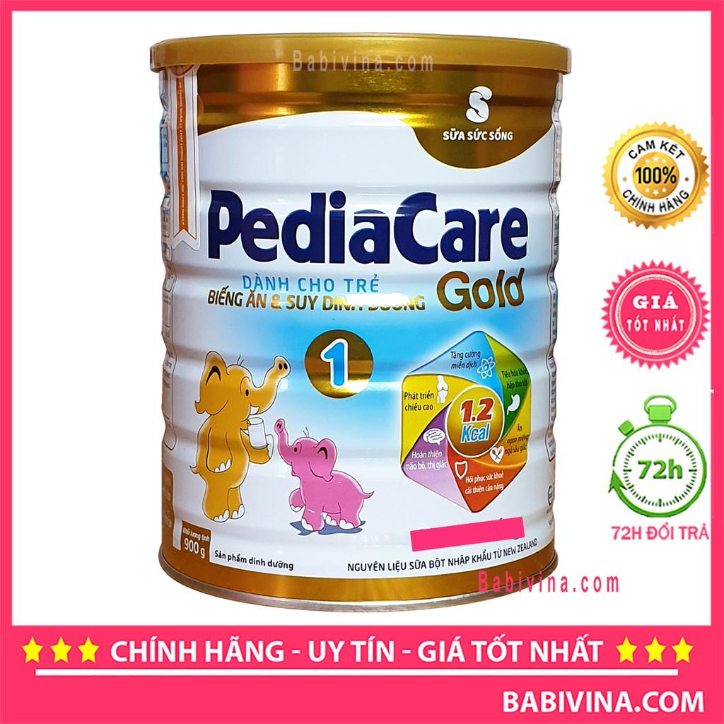 [LẺ GIÁ SỈ] Sữa Pediacare Gold 1 900g (Pedia care)