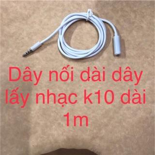Dây nối dài dây lấy nhạc k10 thumbnail