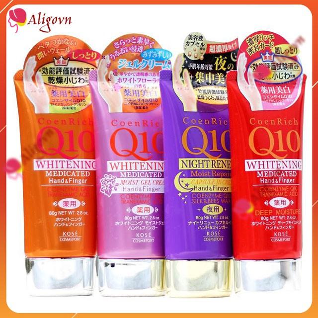 Kem Dưỡng Da Tay Q10 Hãng Kose Nhật Bản, mang lại làn da tay mềm mại, mịn màng, xóa mờ vết chai - Mỹ Phẩm Nhật Bản