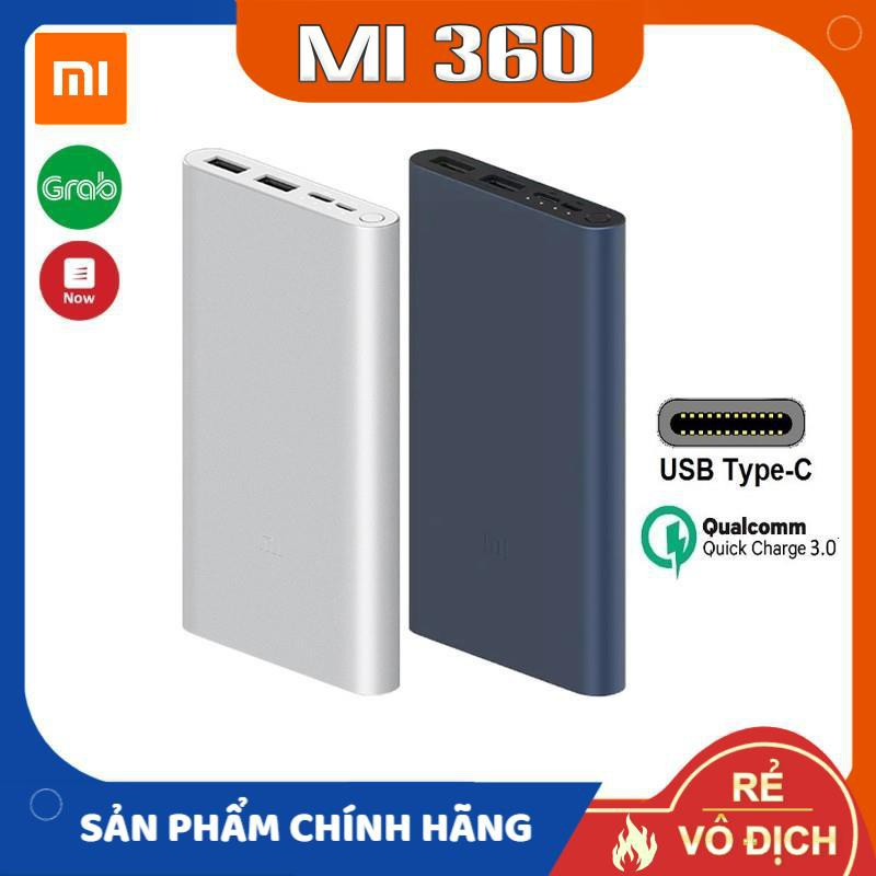 Pin Sạc Dự Phòng Xiaomi 10000mAh Gen 3 18W✅ Pin Sạc Dự Phòng Xiaomi Gen 3 10000mAh✅ Hàng Chính Hãng