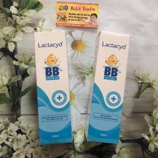 Sữa tắm Lactacid BB date 2022 của Cty Dược