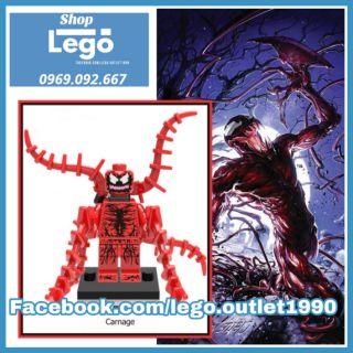 Xếp hình Jual Carnage Lego Minifigures Xinh Xh659 thumbnail