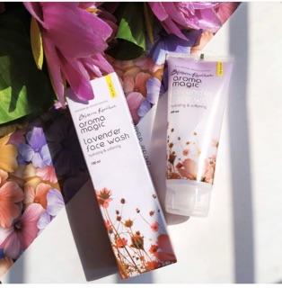 Sữa rửa mặt dành cho da khô Aroma Magic Lavender Face Wash - 100ml thumbnail