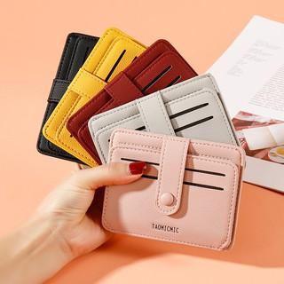 Hình ảnh Ví nữ mini TAOMICMIC dễ thương ngắn cầm tay nhiều ngăn nhỏ gọn bỏ túi thời trang cao cấp VD379-8