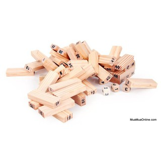 [Nhập TOYAPR10K giảm ngay 10K]Đồ chơi rút gỗ 54 thanh cho bé – [XẢ HÀNG]